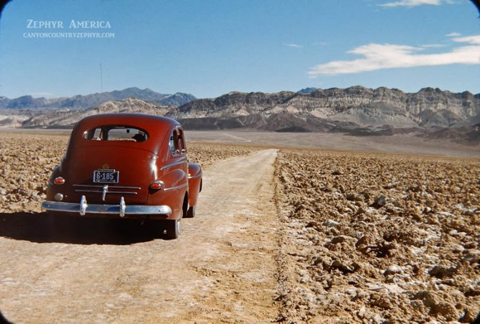 On the Devil's Golf Course. Death Valley, California. 1946. Photo by Herb Ringer