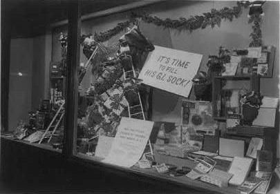 Macy's Window Display. Christmas, 1943