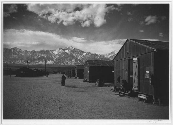 Manzanar. Photo by Ansel Adams