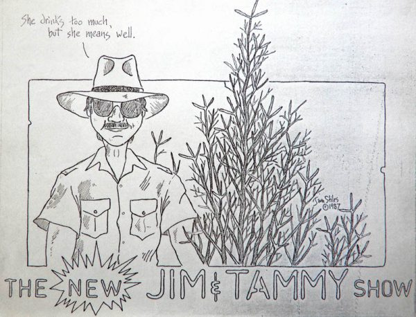 The Jim and Tammy show. Cartoon by Jim Stiles