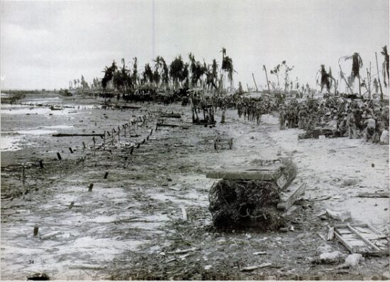 The Beach at Tarawa. LIFE Magazine. Dec 13, 1943