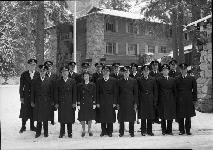 The Naval Staff of the Ahwahnee Hospital. c/o NPS