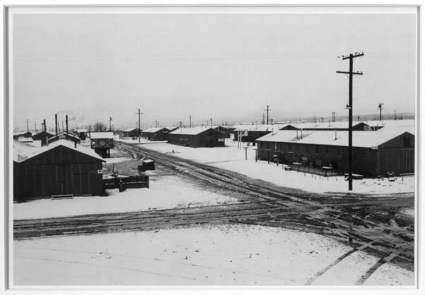 Winter Storm at Manzanar. Photo by Ansel Adams. c/o Library of Congress