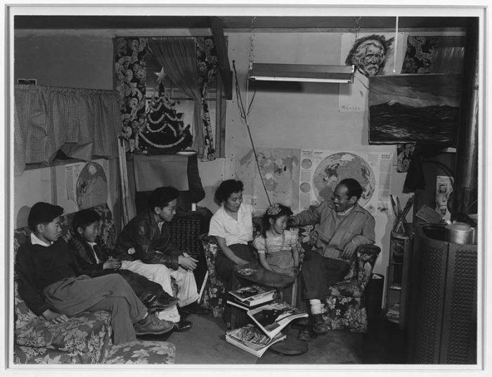 Toyo Miyatake and Family. Photo by Ansel Adams