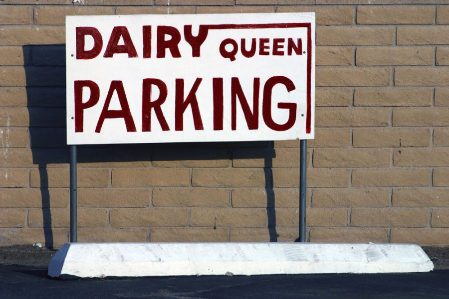 Dairy Queen Parking. Photo by Paul Vlachos