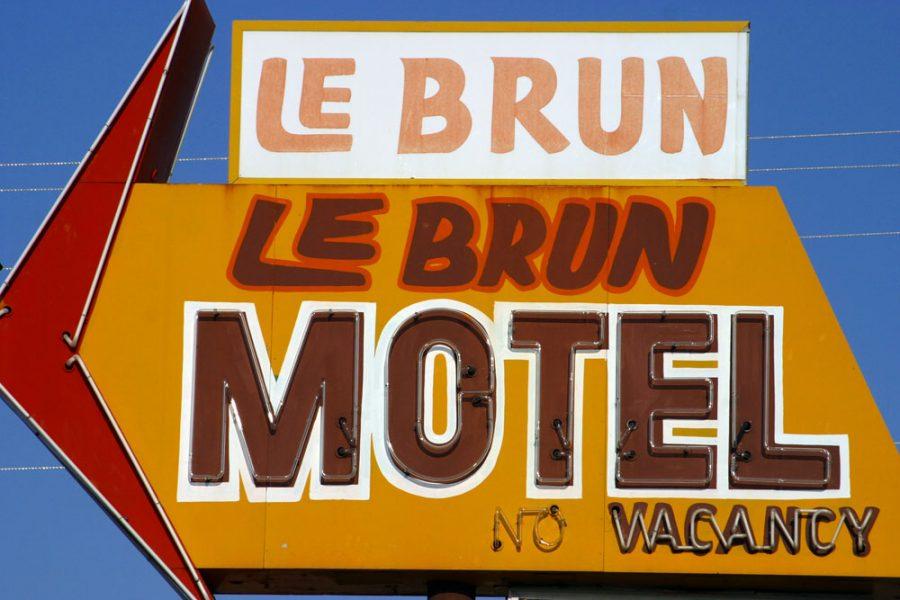 Le Brun Motel. Photo by Paul Vlachos