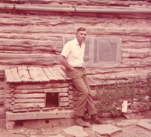 Art outside field camp, Yellow Jacket, CO 1973 Credit: Cherie Rohn