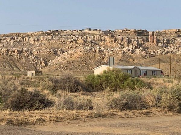 Musangnuvi Village. Hopi Reservation