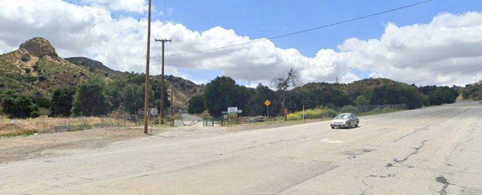 Route 126 near De Valle, CA