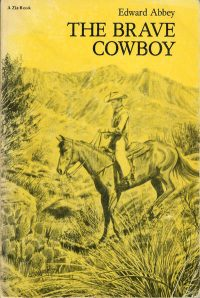 The Brave Cowboy book cover