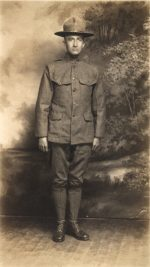 "Another WWI ""Doughboy,"" grandfather of Jim Stiles."