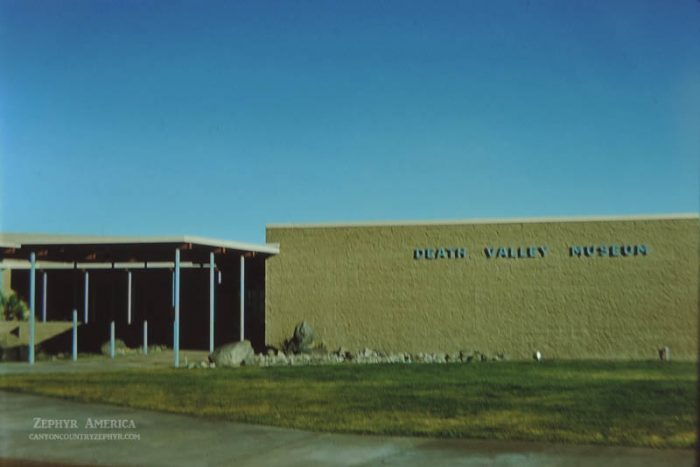 Death Valley Museum. Herb Ringer. 1961