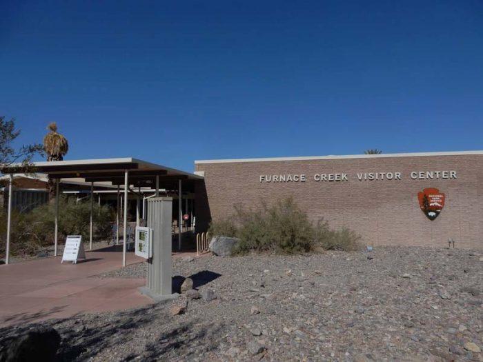 Death Valley Visitor Center. Jim Stiles. 2020