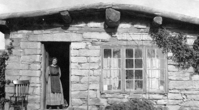 Louisa Wetherill at her home in Kayenta, Arizona