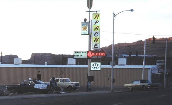 Moab peddler. 1980. Photo by Jim Stiles