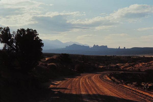 Arches National Park. 1984. Photo by James Stiles, Sr