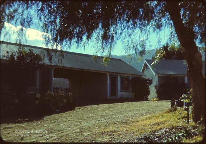 Cabins at Panamint Springs. Herb Ringer. 1947