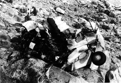 pot plane wreckage