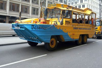 DUKW tour bus; many still in use for parades and other special events
