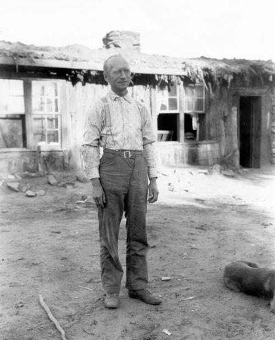 Byron Cummings, age 48, at Oljato in 1909.