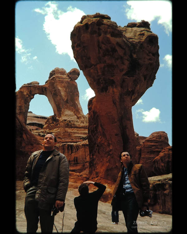 Angel Arch. Canyonlands. 1970. Photo by Edna Fridley