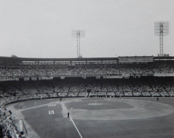Comiskey Park. Chicago. 1962. Photo by James Stiles, Sr