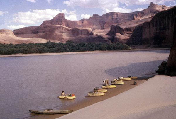Second Spring trip on closing of Lake Powell
