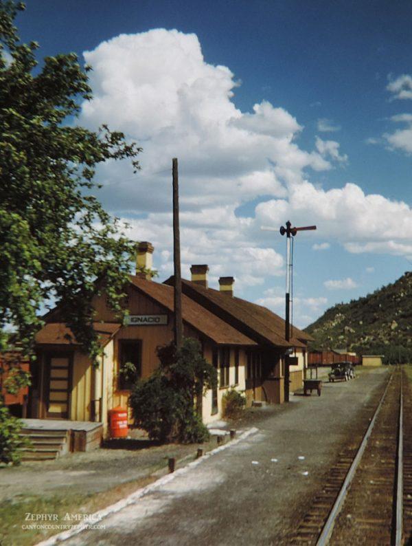 Ignacio, Colorado. 1948. Photo by Herb Ringer