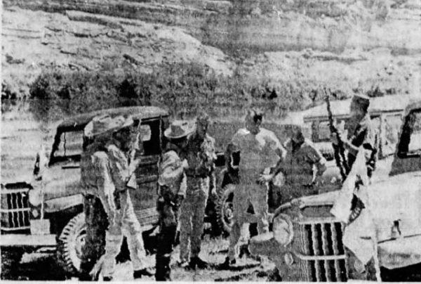 A posse of searchers