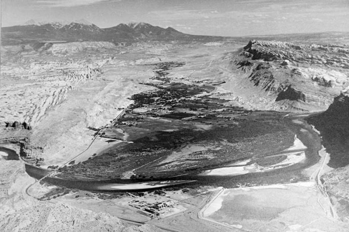 Aerial View of the Moab Valley