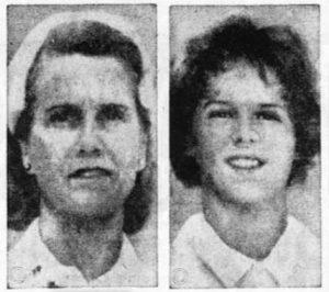 Jeannette Sullivan and daughter Dennise
