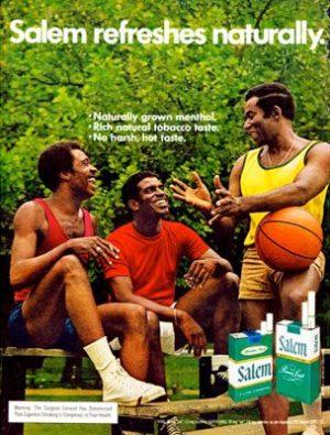 Salem Cigarette Ad