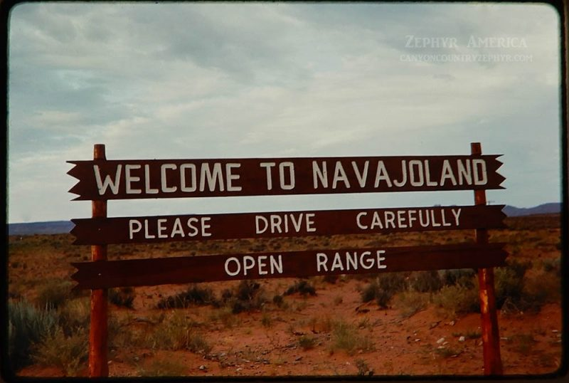 NAVAJO RESERVATION, ARIZONA. SEPTEMBER, 1967. Photo by Edna Fridley