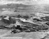 St. George, ~1930-1940. Note the farm village development pattern is still evident. Photo credit: Utah State Historical Society.