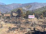 Aftermath of the Pack Creek Ranch Fire